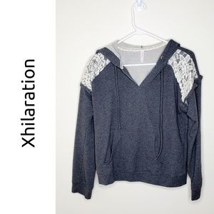 Super Cute Hoodie with Lace detail, Size M